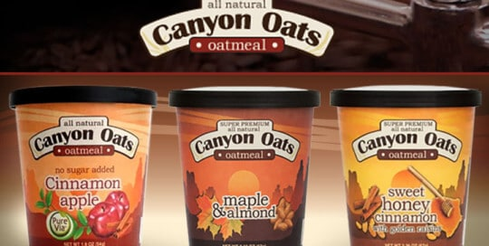 oatmeal to go package design