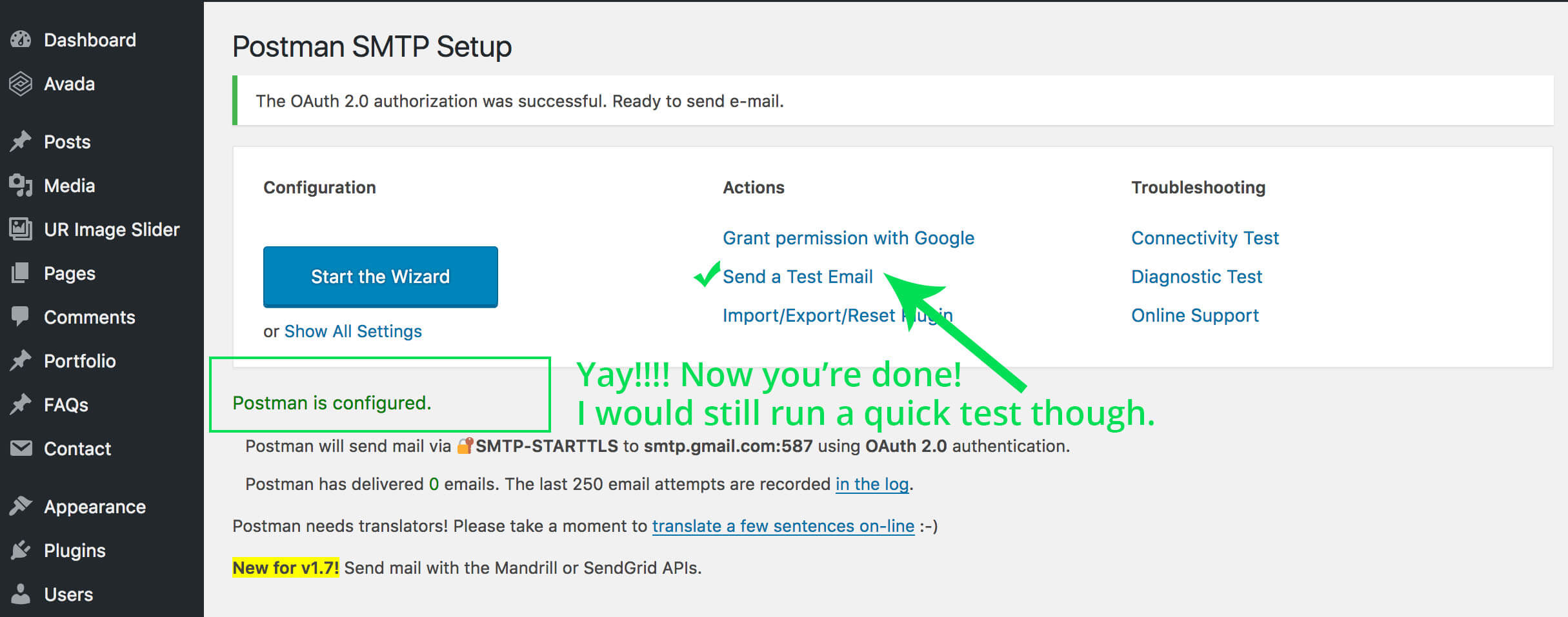 The ONLY Gmail SMTP Plugin for Wordpress That Works!