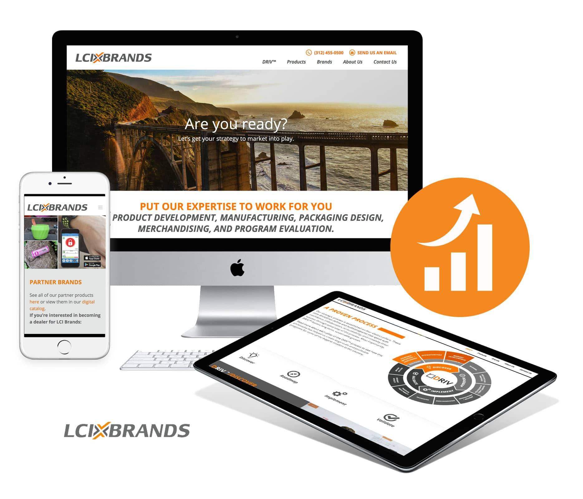 LCI Brands Enterprise Level B2B Website
