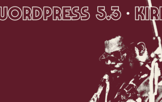 WordPress 5.3 Kirk Version Update